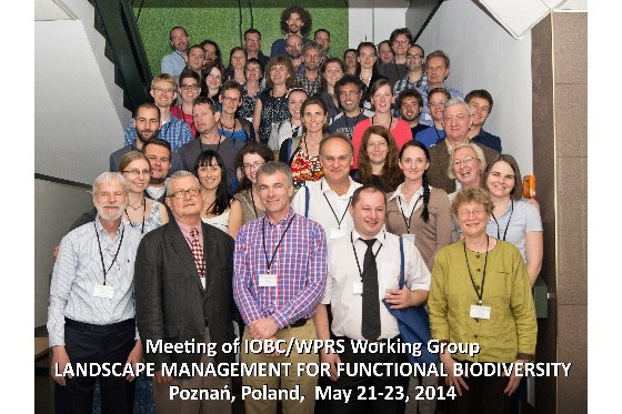 "IOBC-WPRS WG ""Landscape management for functional biodiversity"""