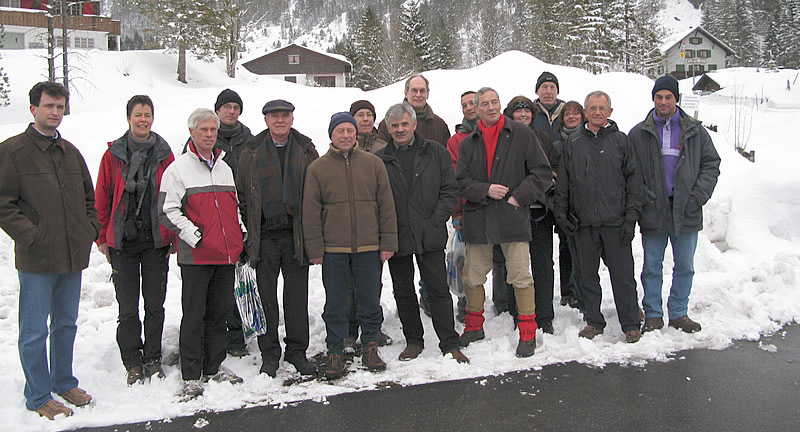 Participants at the joint EPPO/IOBC panel on BCA in Engelberg (Switzerland), March 2009