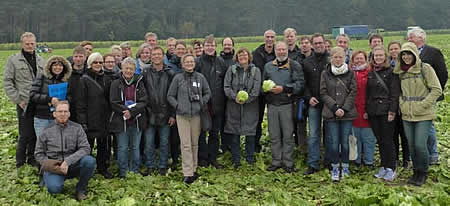 "IOBC-WPRS meeting of the Working Group ""integrated Protection in Field Vegetables"", 04.-07.10.2015, Pflanzenschutzdienst (Plant Protection Service), Hamburg, Germany."