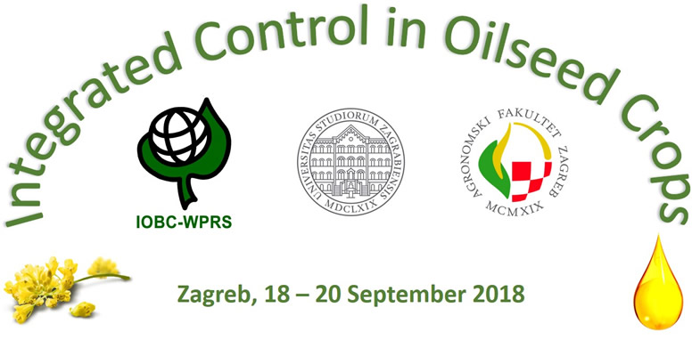 "17th meeting of the IOBC-WPRS Working Group ""Integrated Control in Oilseed Crops"", 18-20 September 2018, University of Zagreb, Faculty of Agriculture, Zagreb, Croatia."