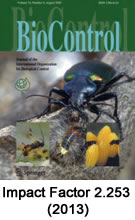 BioControl - official journal of the International Organization for Biological Control (IOBC)