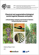Classical and augmentative biological control against diseases and pests: critical status analysis and review of factors influencing their success.