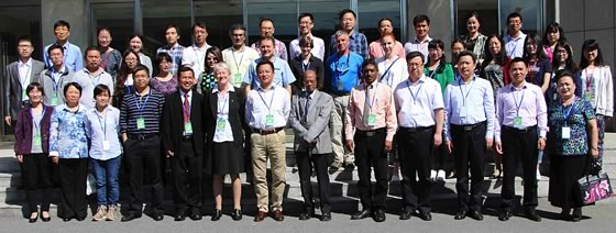 Group photo of the 1st International Workshop of IOBC-APRS in Beijing, China, 15-19 May 2016