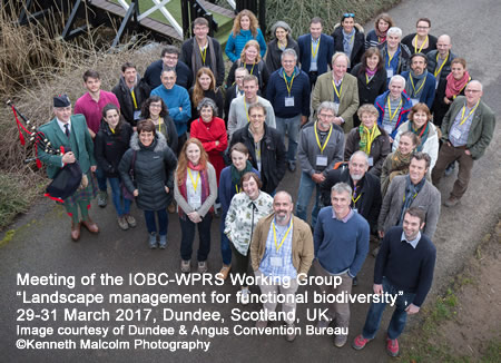 "Meeting of the IOBC-WPRS Working Group ""Landscape management for functional biodiversity"", 29-31 March 2017, Dundee, Scotland, UK. Image courtesy of Dundee & Angus Convention Bureau ©Kenneth Malcolm Photography"