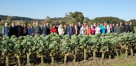 "Working Group ""Integrated Protection in Field Vegetables"", meeting at Wädenswil/Arenenberg, Switzerland, 02-06 October, 2017"