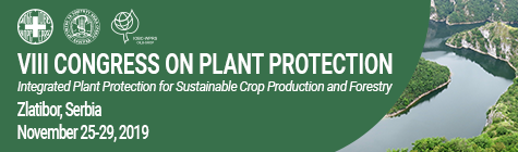 "VIII Congress on Plant Protection: ""Integrated Plant Protection for Sustainable Crop Production and Forestry"", 25.-29.11.2019, Zlatibor, Serbia."