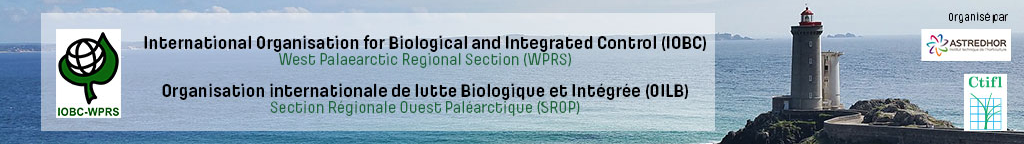 "IOBC-WPRS WG ""Integrated Control in Protected Crops, Temperate and Mediterranean climate"", 31.08.-03.09.2020, Brest, France."