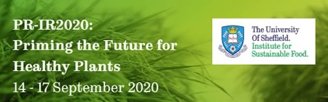 "Joint PR-IR IOBC-WPRS conference ""Priming the Future for Healthy Plants"", IOBC-WPRS Working Group ""Induced Resistance in Plants Against Insects and Diseases"", 14.-17.09.2020, Sheffield, UK"
