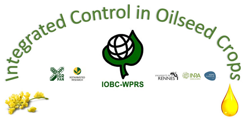 "IOBC-WPRS Working Group ""Integrated Control in Oilseed Crops"", 29 September - 1 October 2020, Rennes, France."