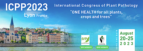 "ICPP2023: 12th International Plant Protection Congress, ""ONE HEALTH for all plants, crops and trees"", 20-25 August 2023, Lyon, France."