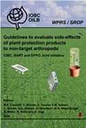 Guidelines to evaluate side-effects of plant protection products to non-target arthropods