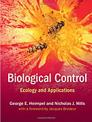 Book: Biological Control – Ecology and Applications . By Heimpel G.E. & N.J. Mills 2017, Cambridge University Press, New York, 380 pp.