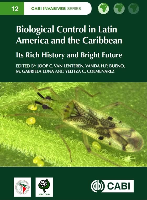 Biological Control in Latin America and the Caribbean: Cover page of the book.