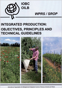 IOBC-WPRS Book: Integrated Production
